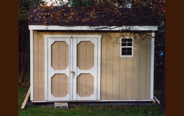 Custom Carriage House Shed