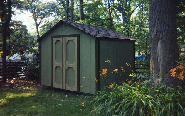 Custom Built A-Frame Shed by Quaker Sheds